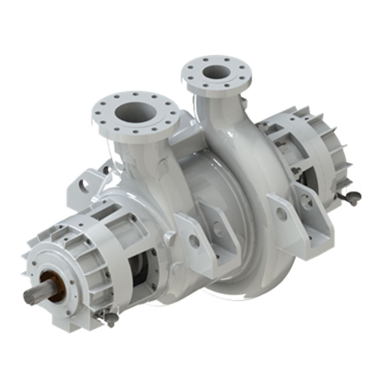 The RBB family of one/two stage heavy duty process pumps are horizontal, between bearings with radially split casing and single/double suction impeller designed for full compliance with API 610 standard.