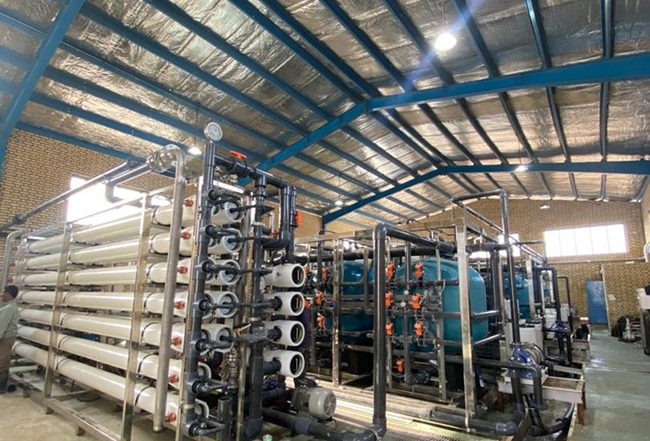 Mapsa Group's endeavor yielded good results. The Water Desalination Project of Karegan in Hormozgan Province was awarded to joint venture Mapsa Group and & Ofogh Taemin Energy (Shasta) in 2015.